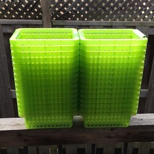 Other - Multipurpose bins (34 as a set) good condition.